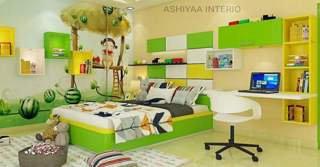 kids room design - ashiyaa-interio