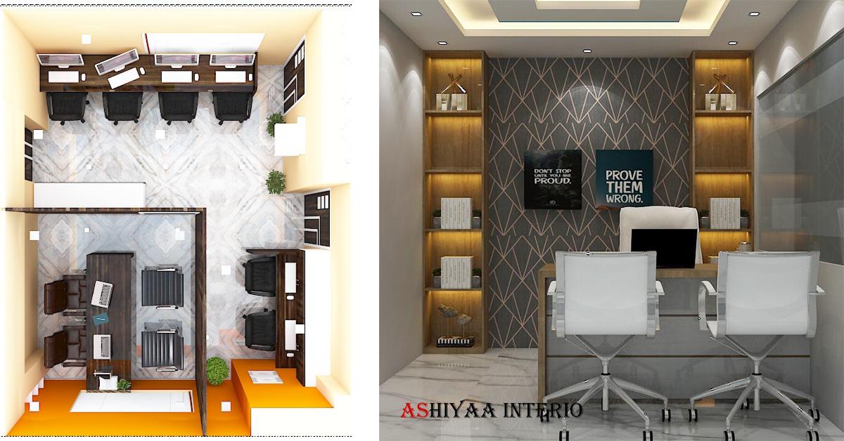 Office Interior Designer in Kolkata - Ashiyaa Interio